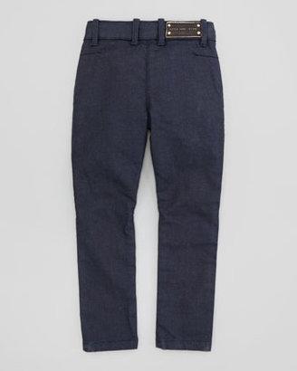 Little Marc Jacobs Two-Front Pocket Denim Jeans, Blue, 2Y-5Y