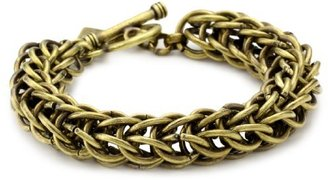 Hudson Auden Oxidized Brass Bracelet