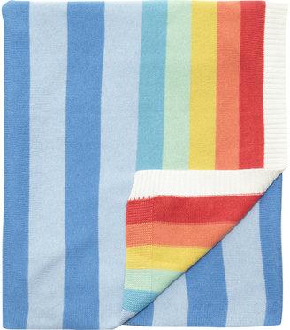 Bonnie Baby Rainbow Striped Blanket