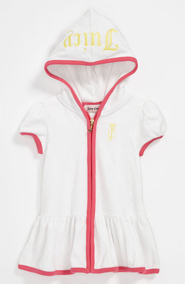 Juicy Couture Terry Hooded Swim Cover-Up (Infant)