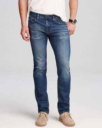 AG Jeans - Matchbox Slim Fit in 10 Years Hollow $225 thestylecure.com