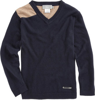 Christian Dior Long Sleeve Color block Sweater