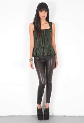 Siwy Giselle Leather Pant in Bewitched -