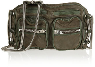 Alexander Wang Brenda washed-leather shoulder bag