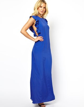 Asos Ruffle Maxi Dress