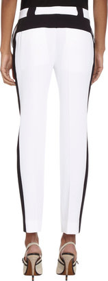 Prabal Gurung Colorblock Cropped Trousers