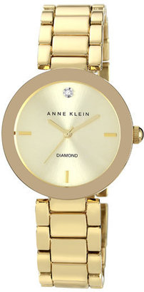 Women's Anne Klein Mirror Bezel Bracelet Watch, 32Mm $75 thestylecure.com
