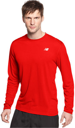 New Balance Shirt, GO2 Long Sleeve Running T-Shirt