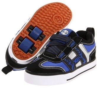 Heelys Bolt (Little Kid) (Blue/Black/Silver/White) - Footwear