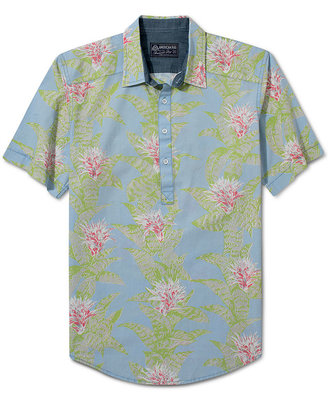 American Rag Shirt, Printed Short Sleeve Shirt