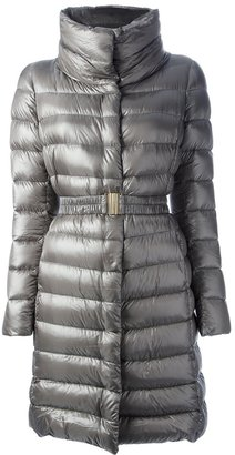 Herno belted padded coat