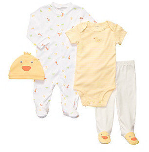 Carter's Baby Yellow 4-pc. Duck Layette Set