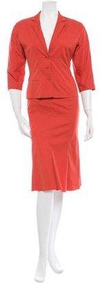 Prada Skirt Suit w/ Tags $325 thestylecure.com