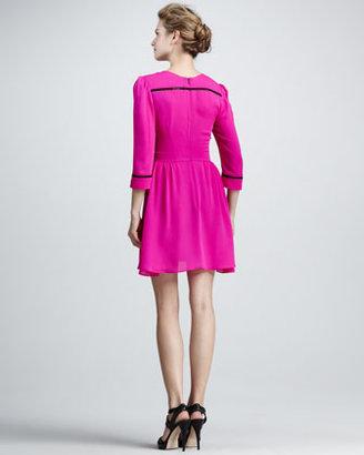 Dolce Vita Ives Contrast-Trim Dress