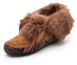 House Of Harlow Maddox Fur Lined Booties
