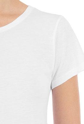 AG Jeans The S/S Crew Neck Tee - Antique White