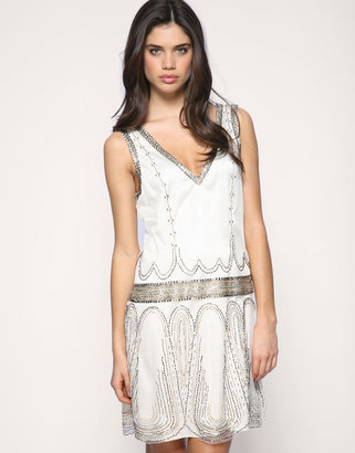 Ted Baker Embroidered Flapper Dress