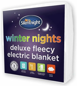 Silentnight Winter Nights Fleece Heated Underblanket -Double