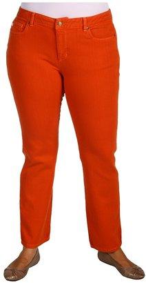 MICHAEL Michael Kors Plus Size Jewel Colored Skinny Jean (Persimmon) - Apparel