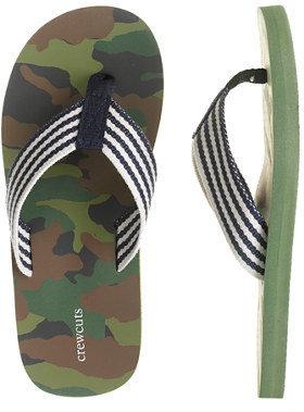 Camo Kids' flip-flops