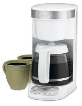 Cuisinart 12-c. FlavorBrew Programmable Coffee Maker, White