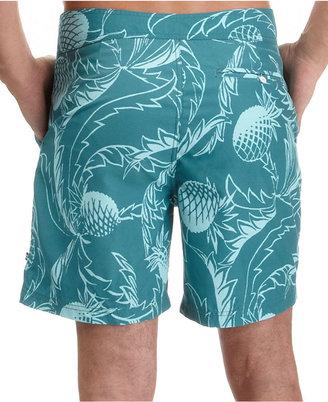 Nautica Swimwear, Pineapple Boardshorts