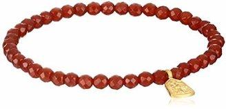 Satya Jewelry Classics Carnelian Tree of Life Protection Stretch Bracelet