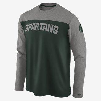Nike Superfan Long-Sleeve (Michigan State) Men's Shirt