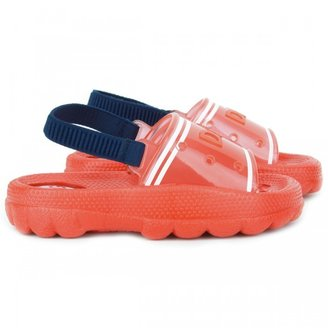 D&G Red Beach Sandals With Back Strap