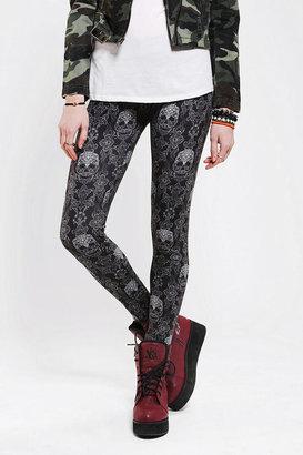BDG Lace Skull High-Rise Legging