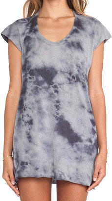 Enza Costa Ionic Wash Sleeveless Scoop Tank