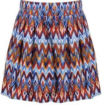 Forever 21 Faith21 Tribal Linen Skirt