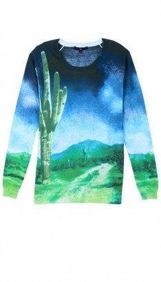 Tibi Printed Saguaro Sweater