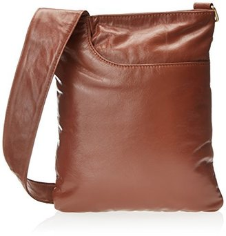Latico Leathers Women's Athena North/South Cross-Body