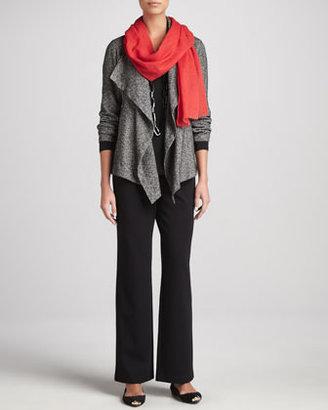 Eileen Fisher Cozy Long Lean Jersey Top, Women's