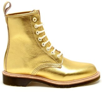 Dr. Martens '1460' metallic nappa leather boot