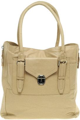 Asos Front Pocket Zip Detail Tote Bag