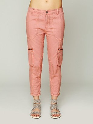 Free People Linen Utility Pant
