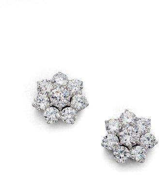 Adriana Orsini Sterling Silver Flower Stud Earrings