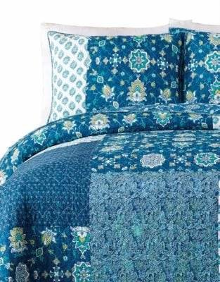 Jessica Simpson Murano Glass Cotton Quilt Set