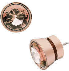 Michael Kors Stud Earrings, Rose Golden