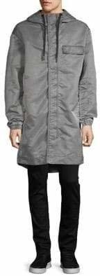 DKNY Long-Sleeve Hooded Parka