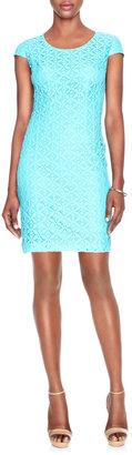 The Limited Lace Sheath Dress