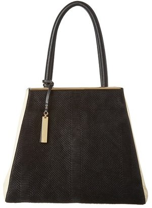 Vince Camuto Kyla Tote (Ivory/Black) - Bags and Luggage