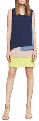 BCBGMAXAZRIA Haley Colourblock Tank Dress