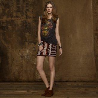 Denim & Supply Ralph Lauren Patterned Sweater Skirt