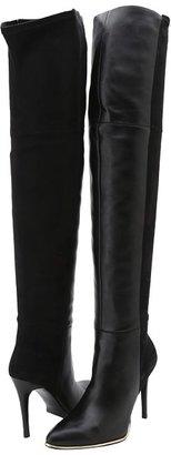 GUESS Zonia (Black Multi Leather) - Footwear