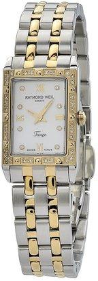 Raymond Weil Women's 5971-SPS-00995 Tango Rectangular Case Mother-Of-Pearl Dial Watch