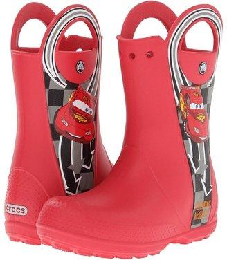 Crocs Handle it Rain Boot McQueen (Toddler/Little Kid)