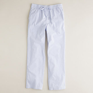J.Crew Classic end-on-end stripe pajama pant